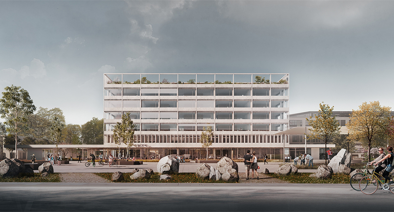 WARSAW UNIVERSITY DEPARTMENT OF PSYCHOLOGY BUILDING1ST PRIZE