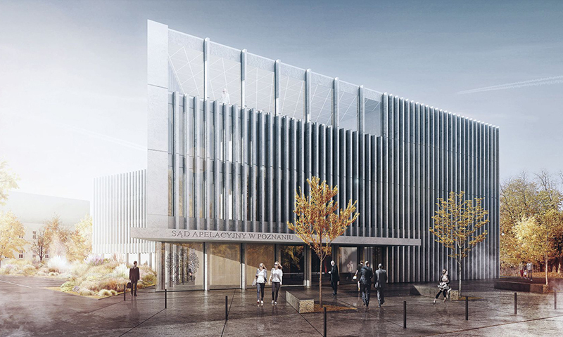 APPEAL COURT IN POZNAN DESIGN COMPETITION - HONORABLE MENTION