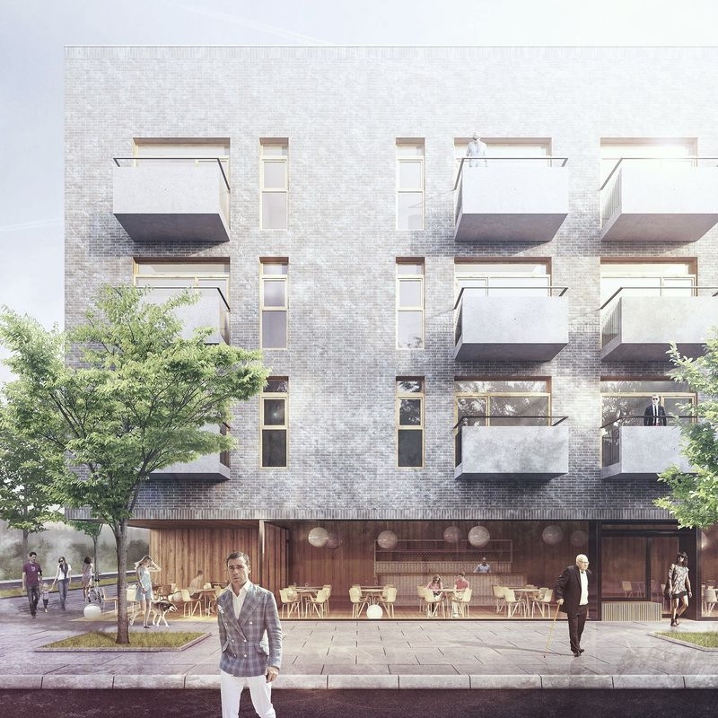 'NOWE   ZERNIKI' HOUSING IN WROCŁAW DESIGN COMPETITION - 1ST PRIZE